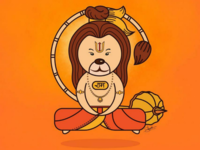Lord Hanuman Illustraion