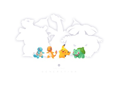 Fun projects. pokemon 1st gen starter