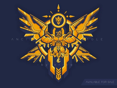 Garuda eagle artwork illustration sticker emblem phoenix myth beast mythical artwork t shirt apparel vector illustration design logo bird garuda eagle