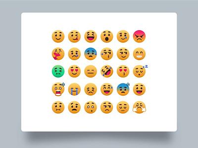 Expressive emoji chat message mobile landingpage uiux logo fun funny sad smile smiley icon emotion emoticon emoji