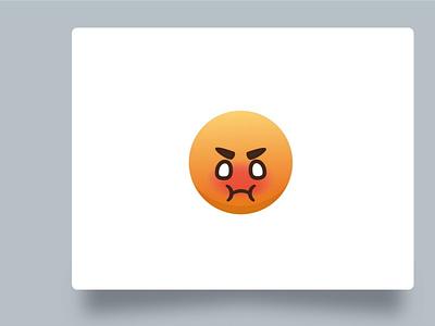 Angry emoji emoticon emoji