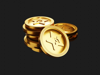 Coin 3D icon coin finance icon icons illustration branding mobile lowpoly lights ui art low poly lighting render blender 3d animation