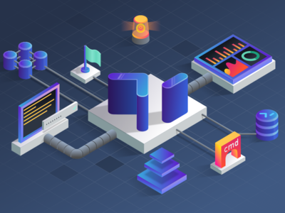 cmd: Isometric Illustration