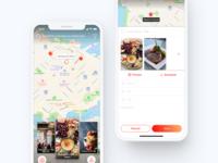 Foodie App: Home & Create Story