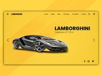 Lamborghini Mokup