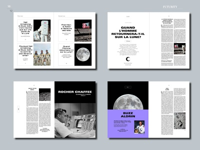 Editorial design : Moon