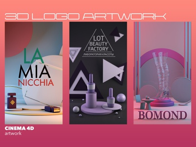 3d logo artwork branding ui adds add instagram banner instagram stories stories cinema4dart logodesign illustrationforweb 3dart illustration art cinema4d