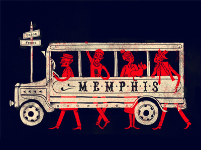 Memphis Bus Stop