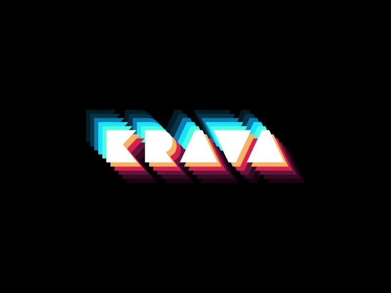 Art Krava Design website krava icon flat vector logo branding typography 3d illustration sketch app ux ui web design
