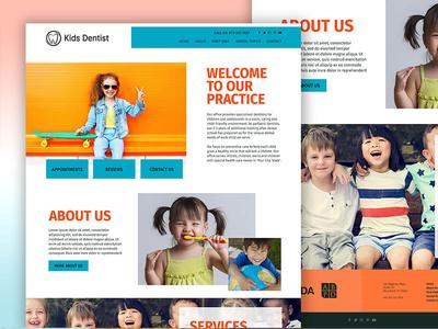 Website Template - Fusion