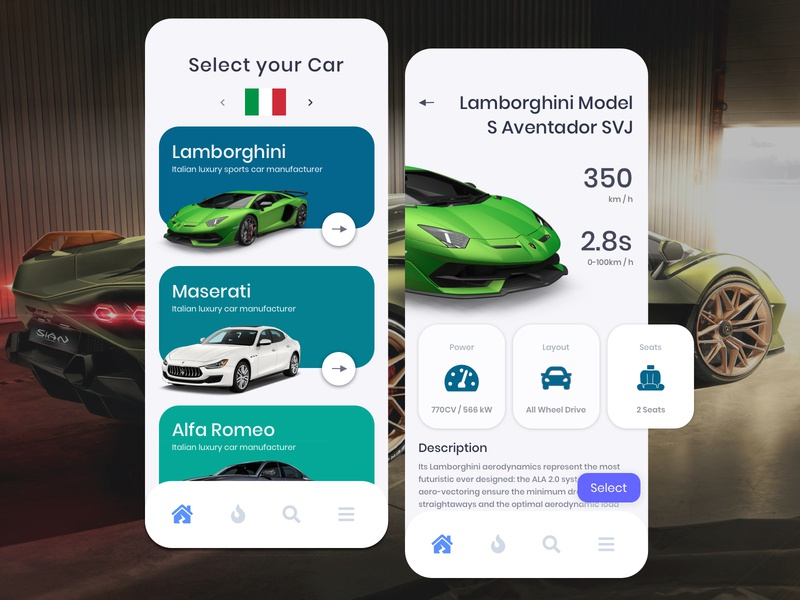 Luxury Car Sales Design Concept based on Country rich art uiux luxurydesign luxury ui designsystem uxresearch designer clean carsales car ux appdesign designforhire design barskydesign