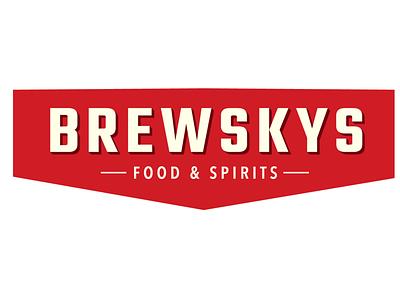 Brewskys Logo Redesign brewskys logo sports bar
