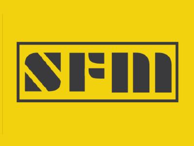 SFM logo yellow rebranding logo