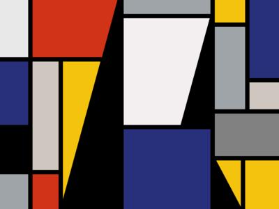Logotect pattern art flat design logo illustration branding