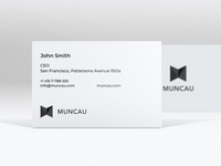 Muncau  business card
