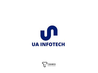 UA Infotech logoinspiration graphics design design illustration logodesign logo