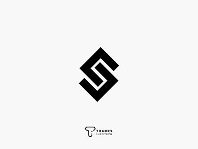 Typographic S Logo Concept branding vector grpahicsdesign typography graphics illustration design logodesign logo