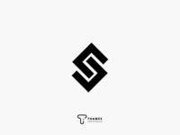 Typographic S Logo Concept