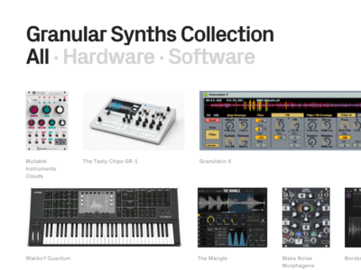 Granular Synths Collection