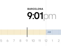 SF vs BCN Clock