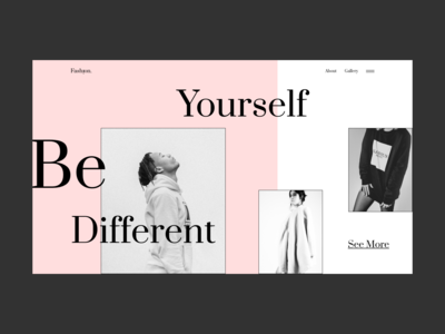 Fashion Website Concept