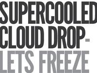 Supercooled