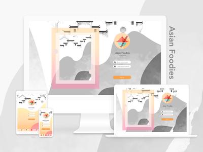 Responsive Design for Asian Foodies App