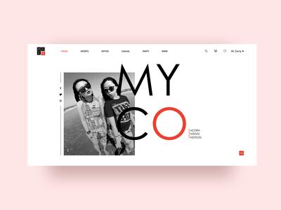 MyCo Women's Fashion-Home Page
