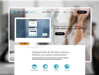 DentalDate Website Redesign