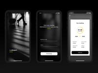 Airport Navigation App Concept 1 (Figma)