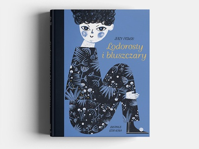 Lodorosty i bluszczary book cover cover book design typography book