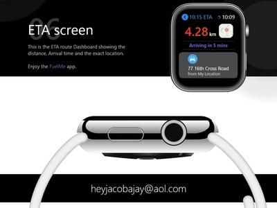 Apple Watch 4 series Design : FuelMe Presentation