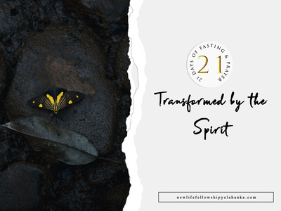 Transformed by the Spirit : Church Poster Design