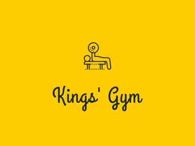 Gym Retail Shop Logo : Concept