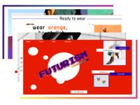 Futurism web pages