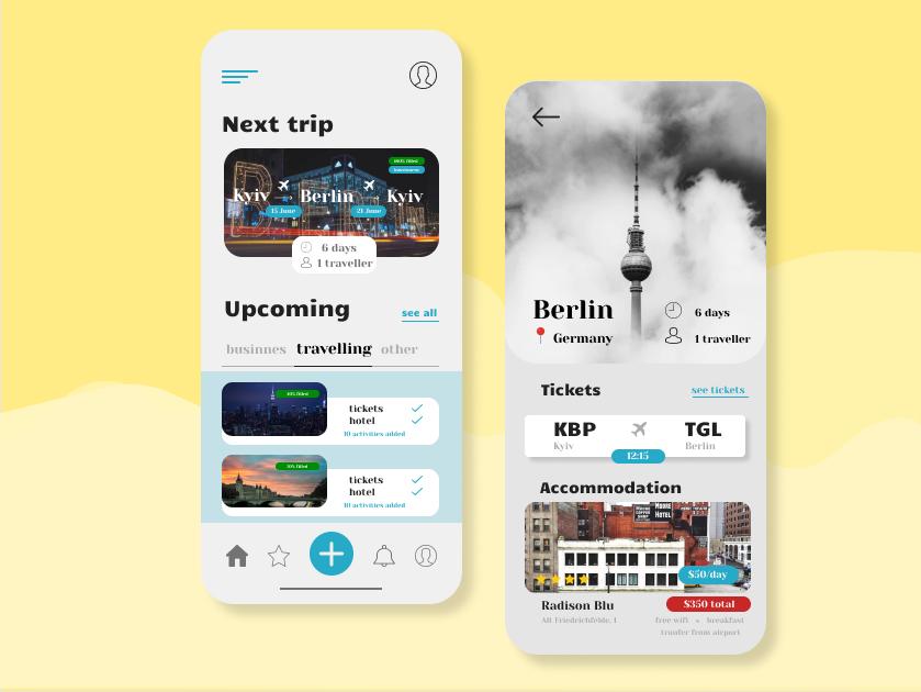 Trip planner app flat icon ios good website illustration color branding work web ux ui best app trend new modern minimalism design art