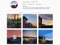 Aldi Sunsets on Instagram