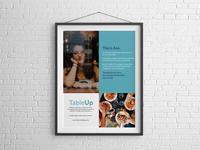 Restaurant App Poster Advertisement