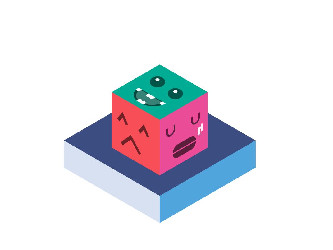 emotion box illustration