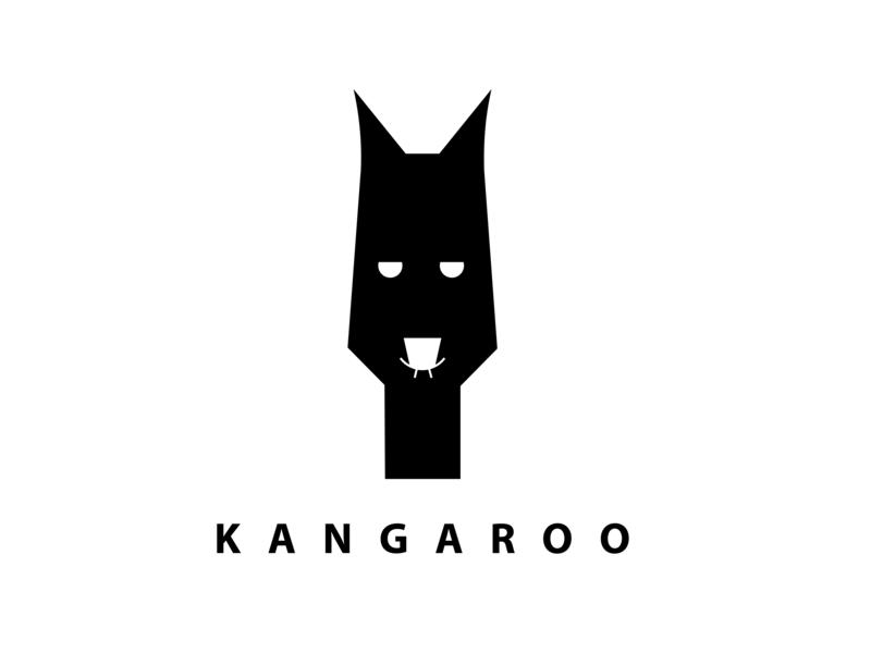 KANGAROO icon illustration