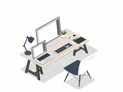 Isometric workspace
