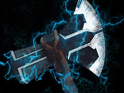 Stormbreaker from infinity war