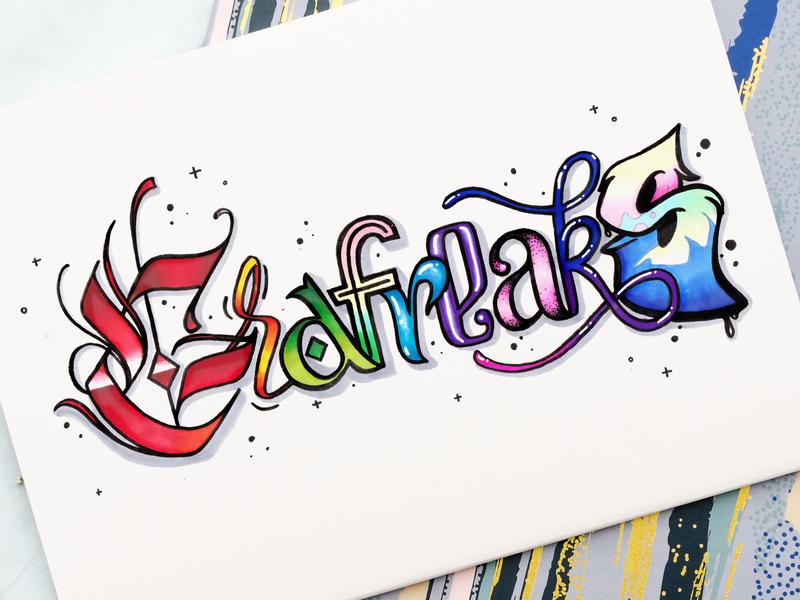 Grafreaks lettering sign graffiti art illustration design logo lettering fonts typography