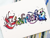 Grafreaks lettering sign