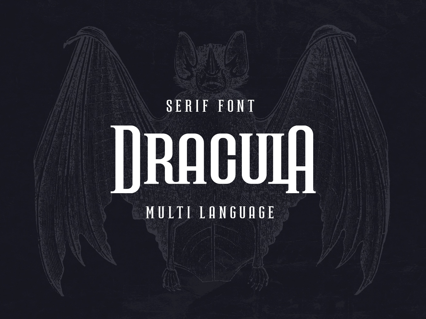 Dracula Serif font gothic cyrillic serif font typography fonts