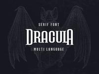 Dracula Serif font