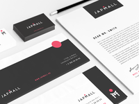 Identity design for Japmall Online-Shop