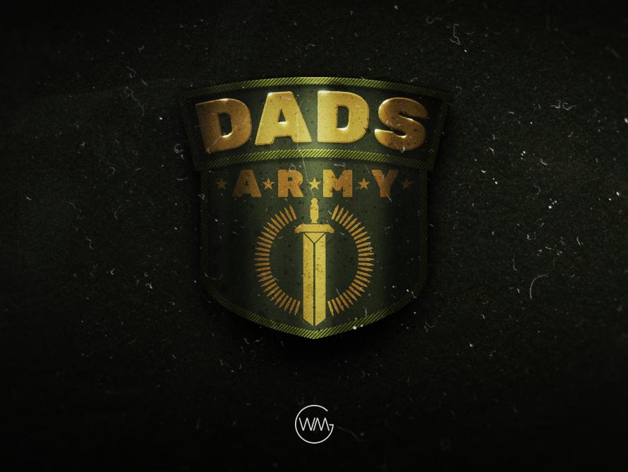 Dads Army design illustration logo