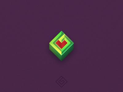 Good work media branding design logo