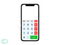 Daily UI Challenge #004 - Calculator